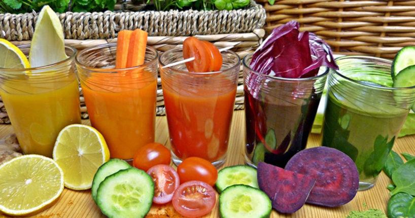 Dobieramy składniki owocowe i warzywne do soków